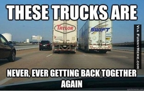 These Trucks Are Never ever Getting Back Together Again Funny Meme Picture 35 very funny truck meme images