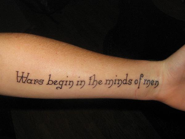 35 Unique Word Tattoos For Men