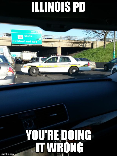 You Are Doing It Wrong Funny Cop Meme Image