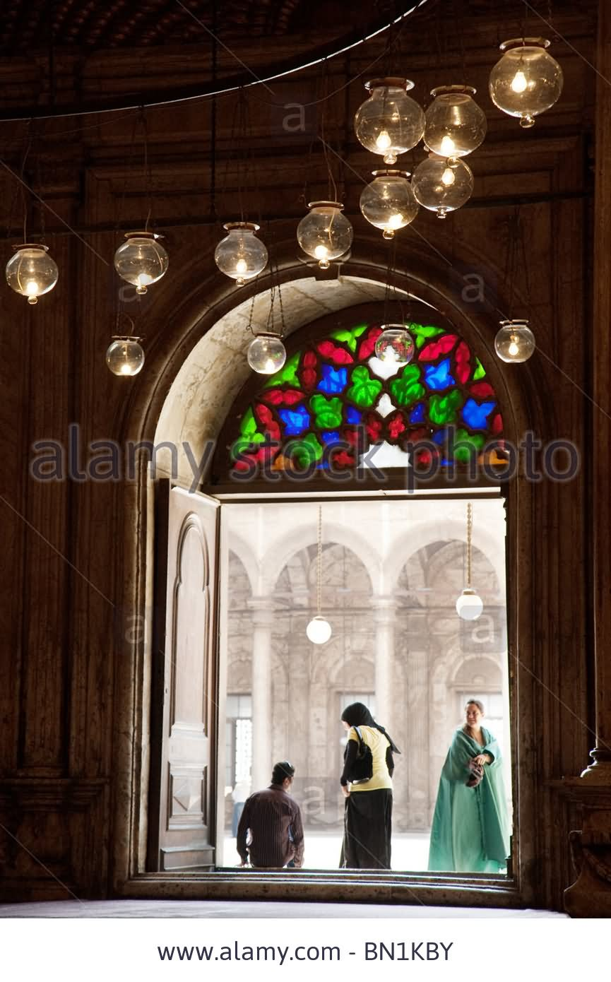 A View From Inside The Muhammad Ali, Mosque, Egypt
