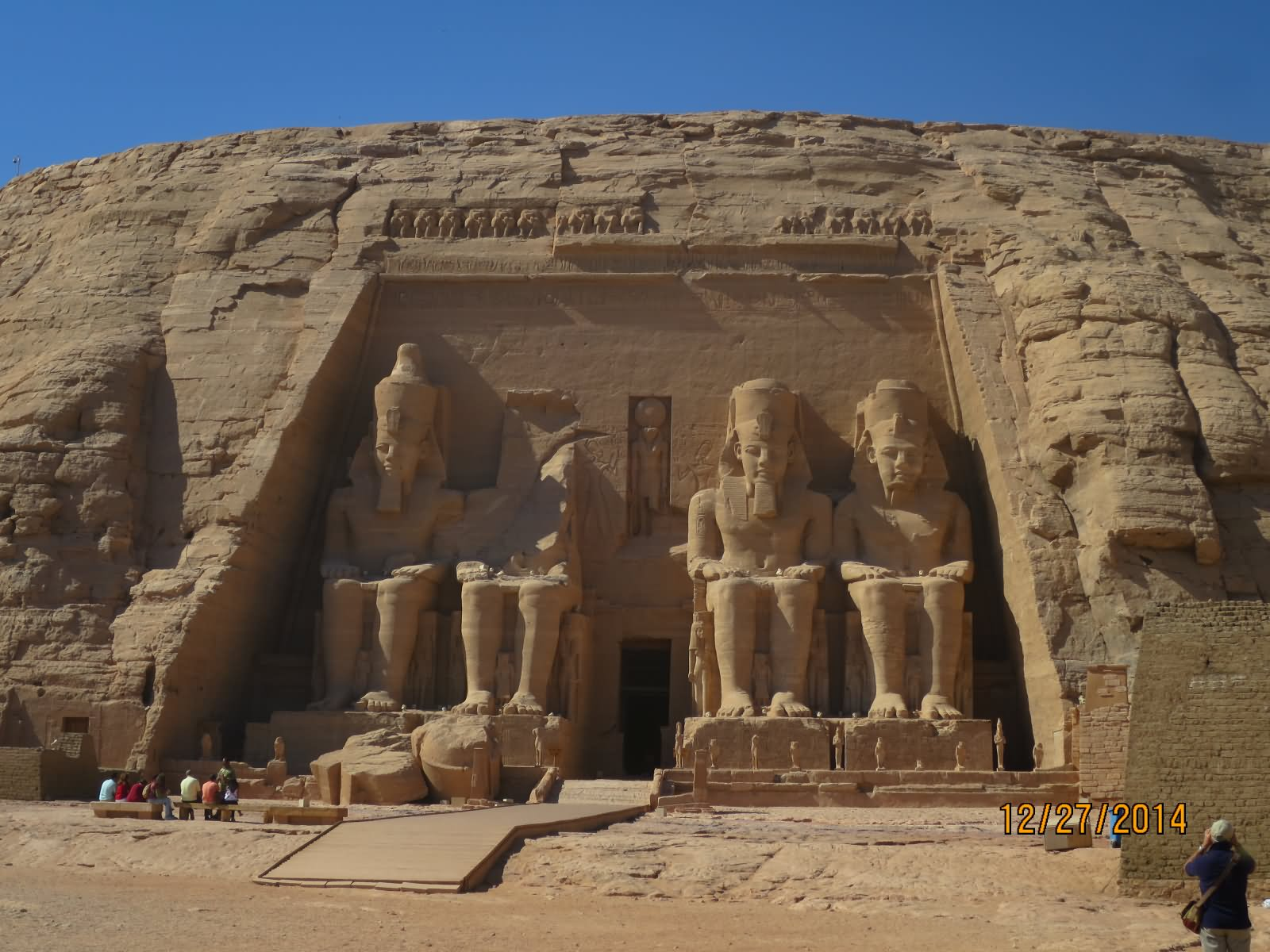 Abu Simbel The Great Temple In Egypt