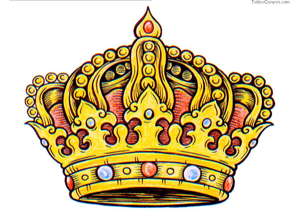 32 king crown tattoos designs amazing king crown tattoo design thecheapjerseys Choice Image