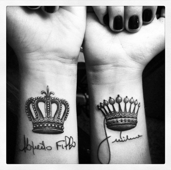 Tattoo Designs Bebe Bapu: 26+ King And Queen Tattoos