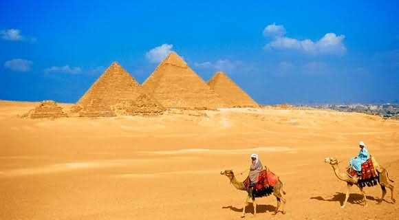 Beautiful Egyptian Pyramids Picture