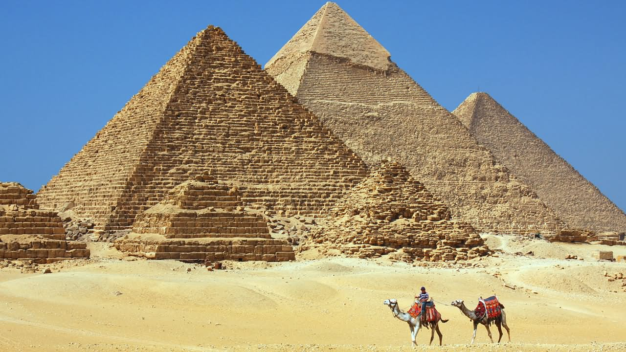 Beautiful Egyptian Pyramids In Egypt Picture