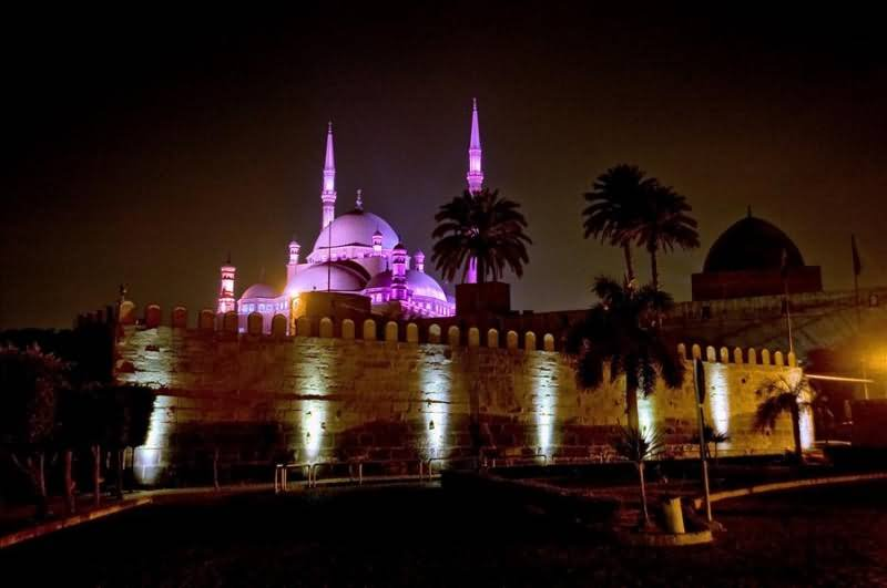 Mosque Beautiful Picture Lights Mosque Beautiful Picture