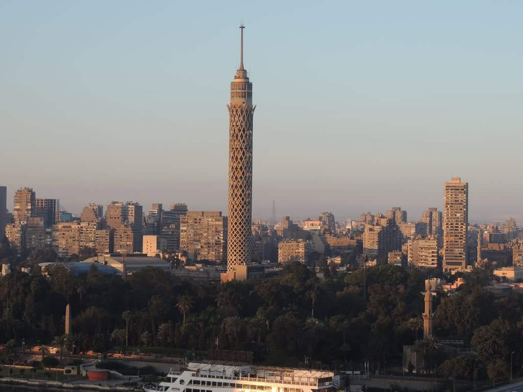 Beautiful View Of Cairo Tower, Cairo