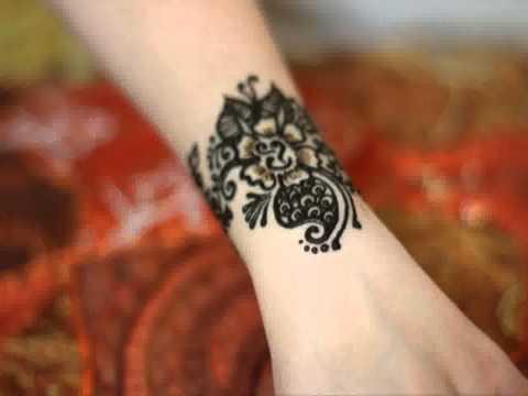 Mehndi Wrist : Simple wrist henna tattoos