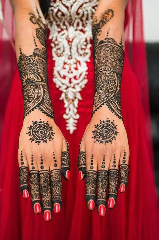 Black Henna Tattoo Dubai: 49+ Beautiful Henna Tattoos For Girls