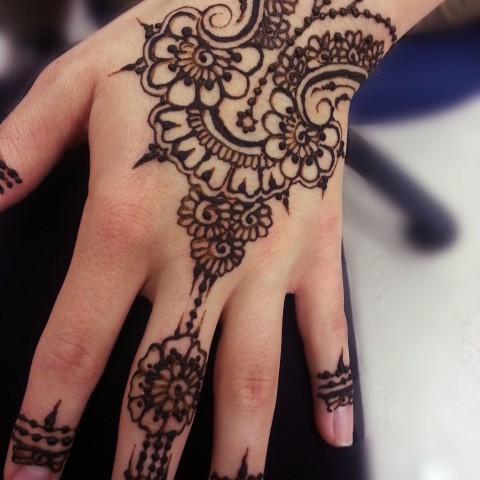 49 beautiful henna tattoos for girls for Black temporary tattoo