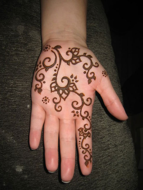 Easy Henna Hand Tattoos: 29+ Simple Henna Tattoos