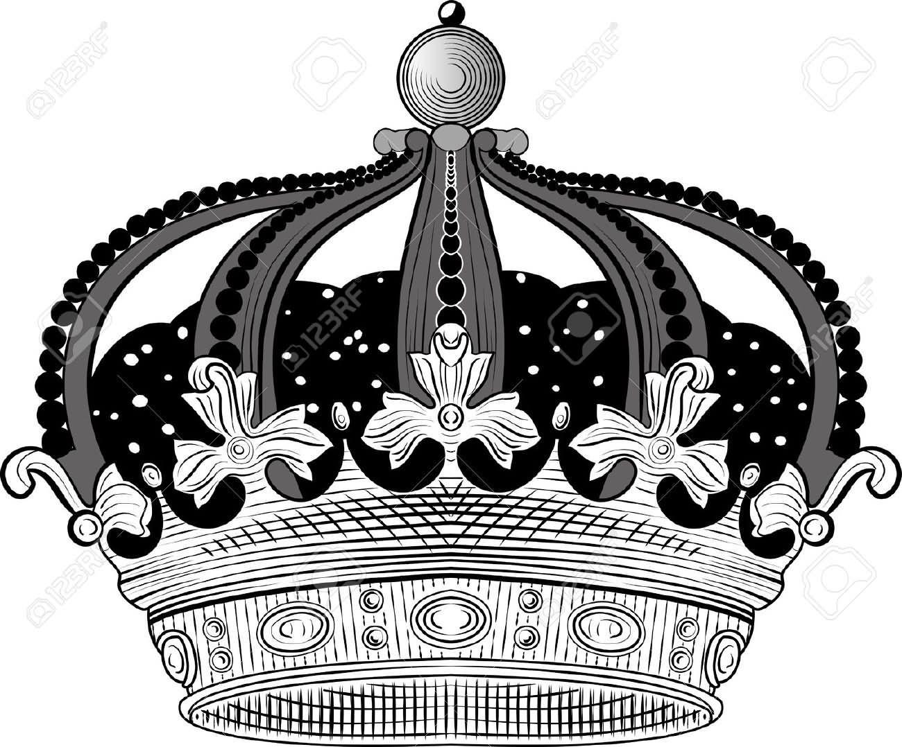 Stencil King Crown: 32+ King Crown Tattoos Designs