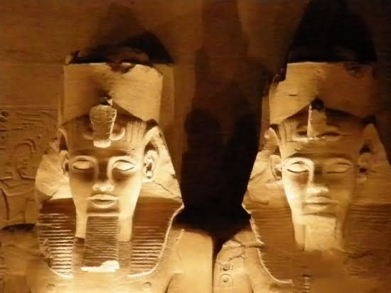 16 Incredible Night View Pictures And Photos Of Abu Simbel, Egypt