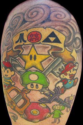 35 unique geek tattoos for Nerd tattoo designs