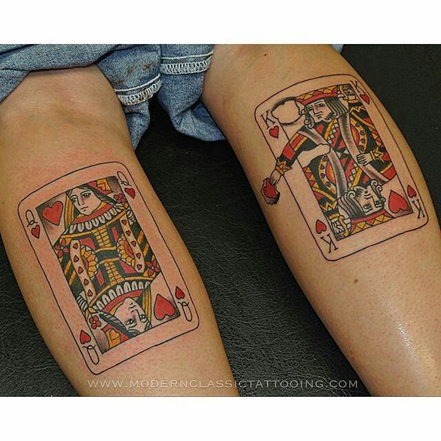 27 King Card Tattoos