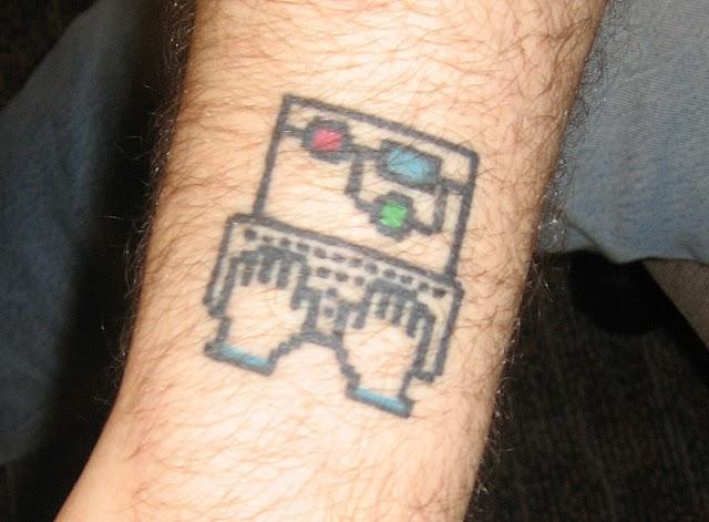25 computer geek tattoos for Nerd tattoo designs