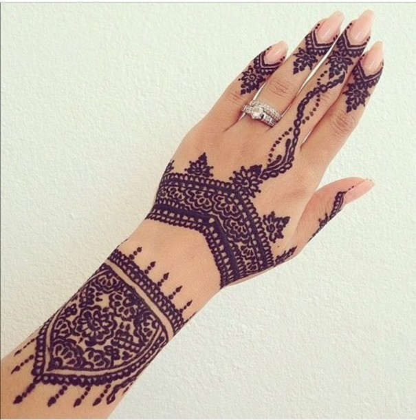 6f16595f031b8 49+ Beautiful Henna Tattoos For Girls
