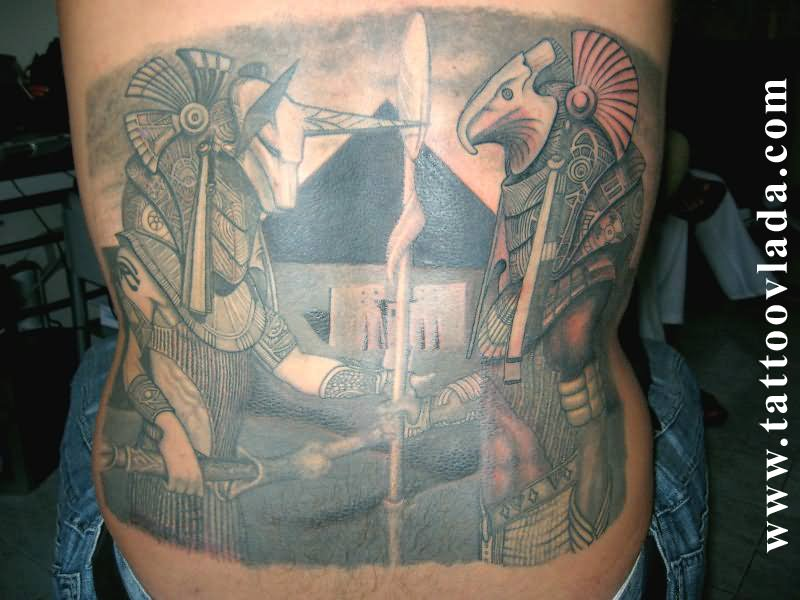52 egyptian god anubis tattoos collection. Black Bedroom Furniture Sets. Home Design Ideas