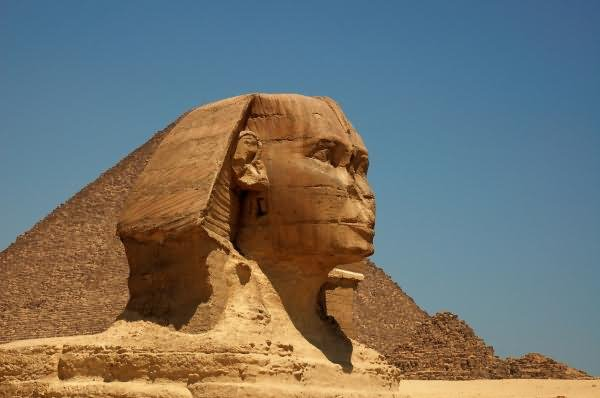 Face Of Great Sphinx of Giza