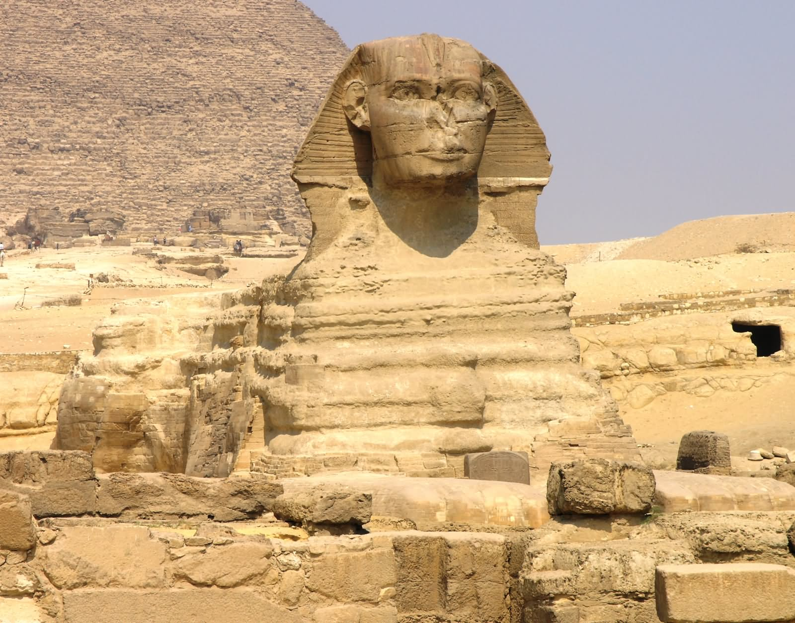 Front View Of Great Sphinx In Egypt