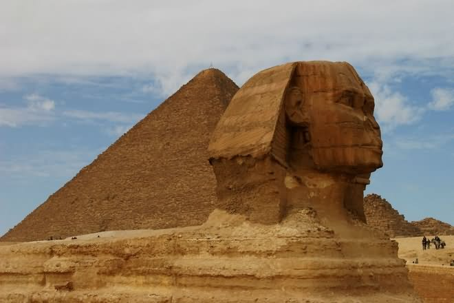 Great Sphinx Of Giza And Pyramid Picture