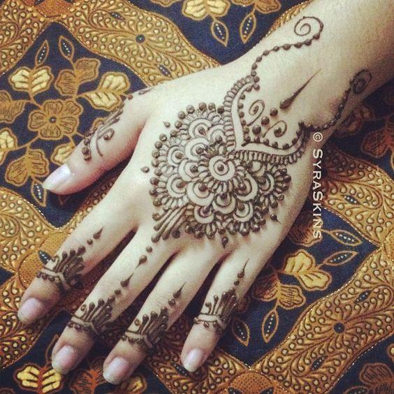 Henna Tattoo Ink: 49+ Beautiful Henna Tattoos For Girls