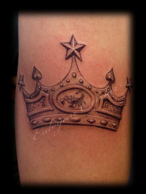38+ Fantastic King Crown Tattoos