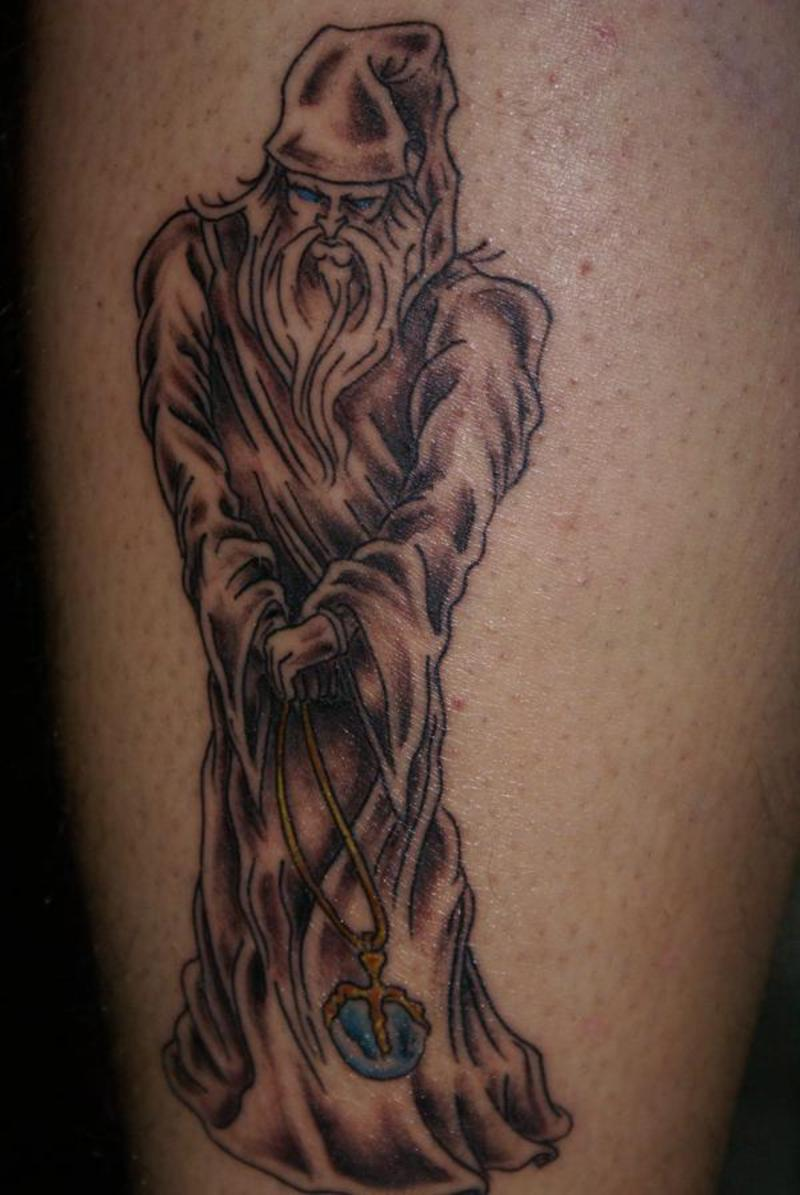 36 awesome wizard tattoos and ideas