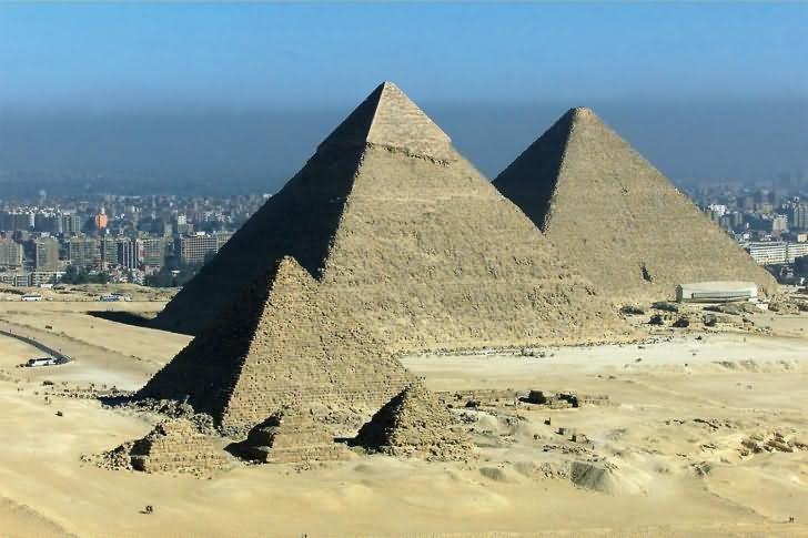 Image Of Three Egyptian Pyramids, Egypt