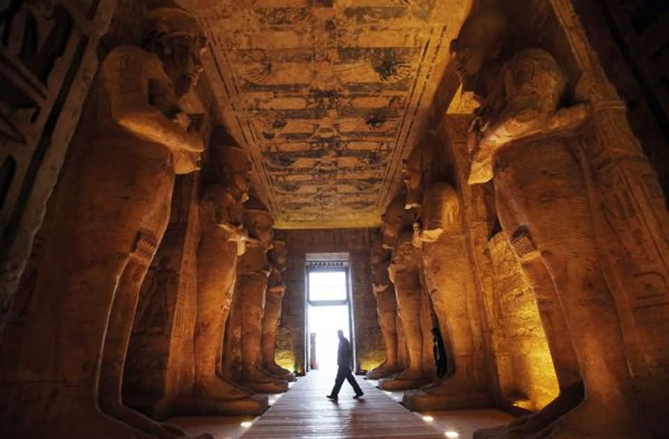 20 Most Beautiful Interior View Images And Pictures Of Abu Simbel, Temple