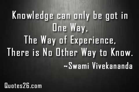 the only source of knowledge is experience The only source of knowledge is experience by albert einstein from my large daily inspiration library of inspiring quotes, inspirational words, and positive.