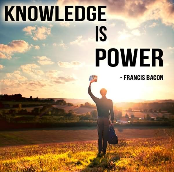 Knowledge Is Power Extraordinary Knowledge Is Power Quote