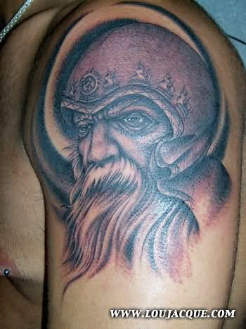 12 wizard tattoos on shoulder for Ink wizard tattoo