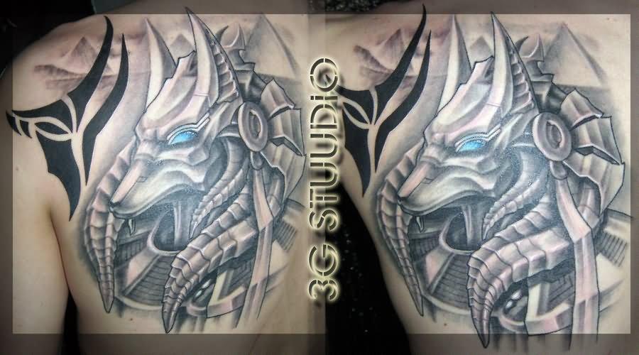 20 beautiful anubis and horus tattoos