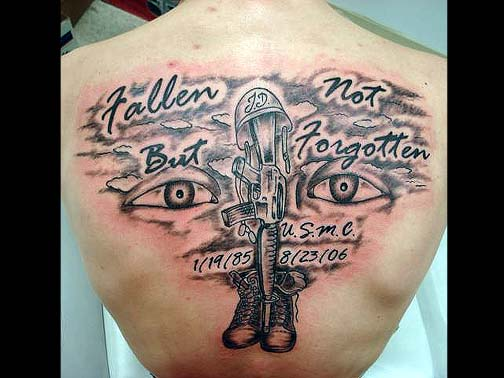 40 incredible military tattoos. Black Bedroom Furniture Sets. Home Design Ideas