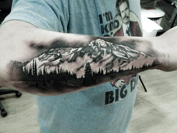 36 Beautiful Scenery Tattoos