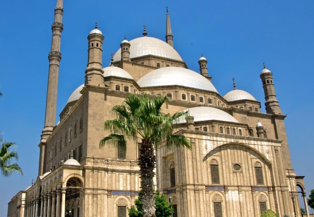 Muhammad Ali Pasha Mosque In Cairo, Egypt