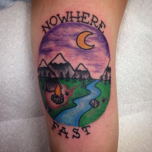 36+ Beautiful Scenery Tattoos
