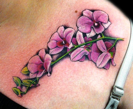 Orchid Flower Tattoo: 50+ Beautiful Orchid Tattoos