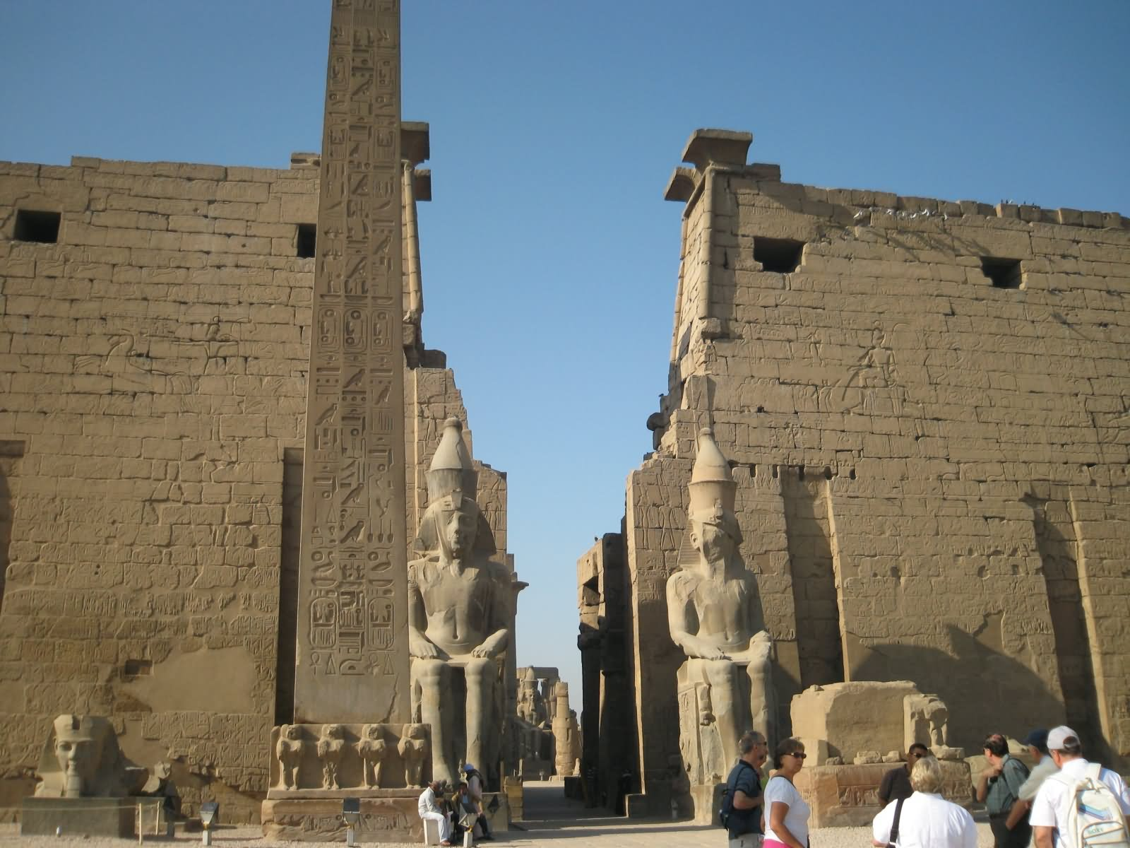 luxor temple Luxor temple is a large ancient egyptian temple complex located on the east bank of the nile river in the city today known as luxor (ancient thebes) and was constructed approximately 1400 bcein the egyptian language it is known as ipet resyt, the southern sanctuaryin luxor there are several great temples on the east and west banks four of the major mortuary temples visited by early.