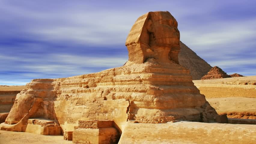 Side View Of The Great Sphinx