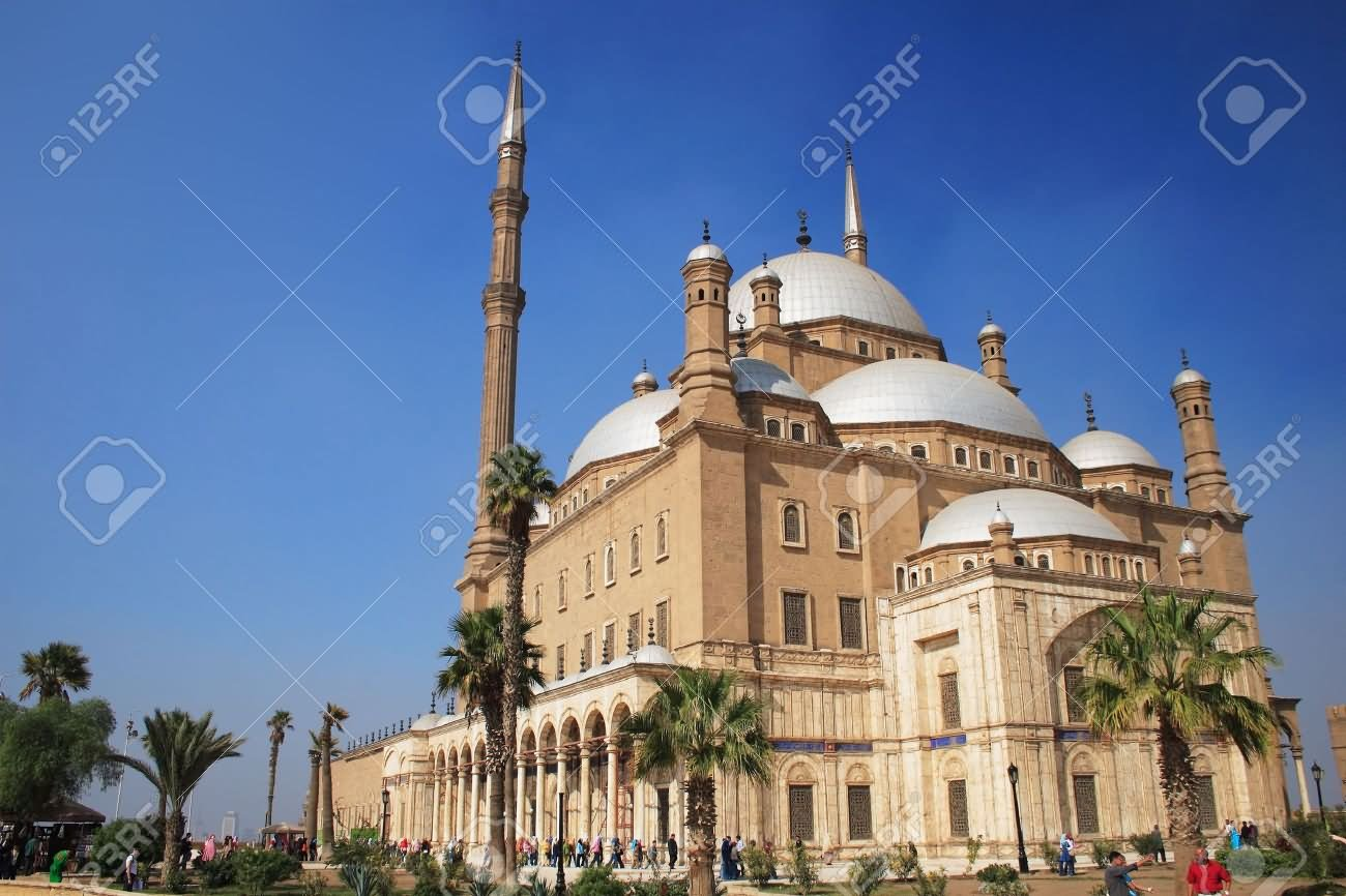 Side View Of The Muhammad Ali, Mosque Picture
