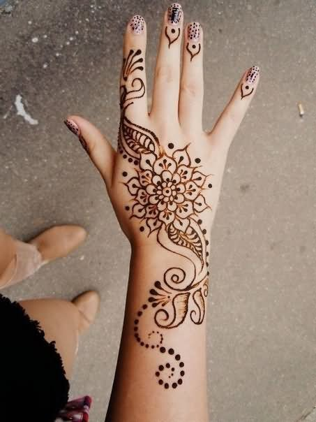 Simple Hand Henna Tattoos 1000 Henna Tattoo Designs Ideas Simple