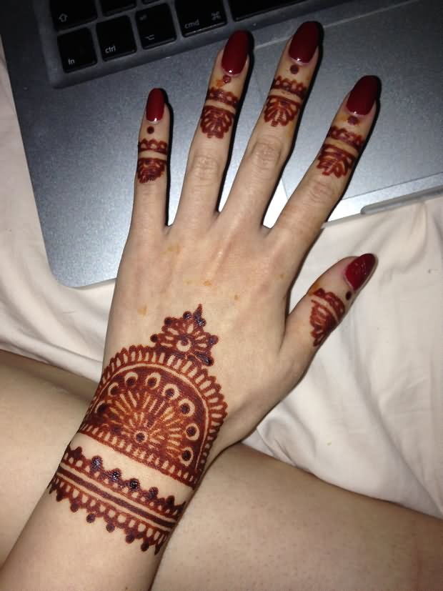 Simple Henna Tattoo Henna Tattoo: 49+ Beautiful Henna Tattoos For Girls