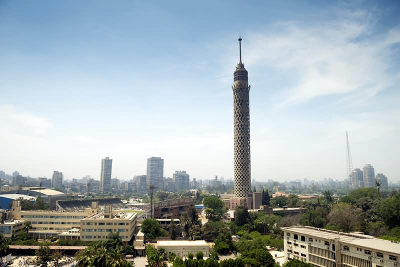 The Cairo Tower In Cairo