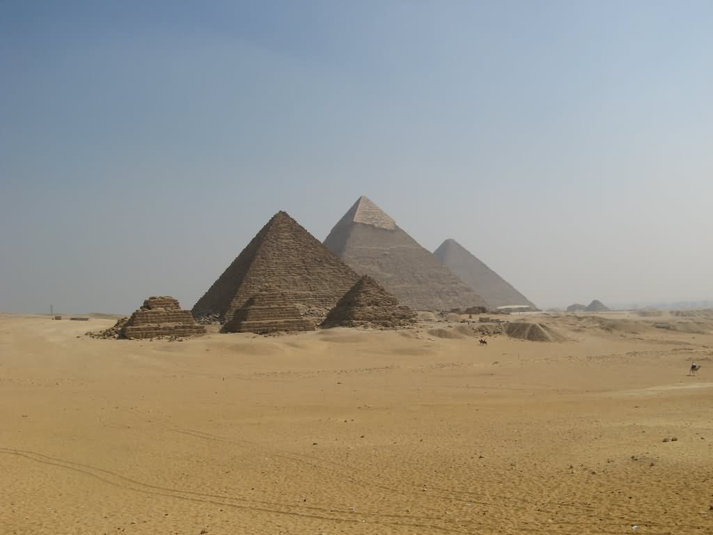 The Egyptian Pyramids Image
