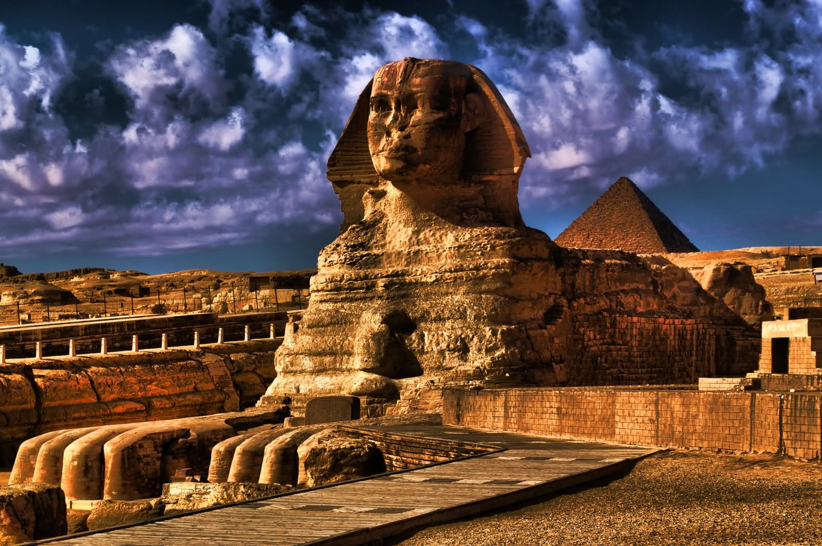 The Great Sphinx of Giza Looks Amazing Picture