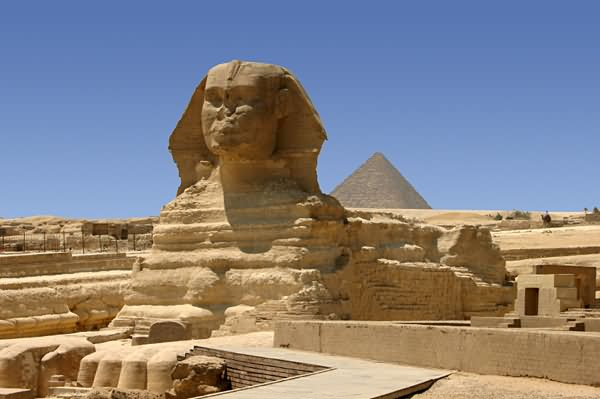 The Great Sphinx of Giza Side Picture
