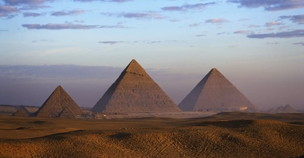 Three Egyptian Pyramids Picture