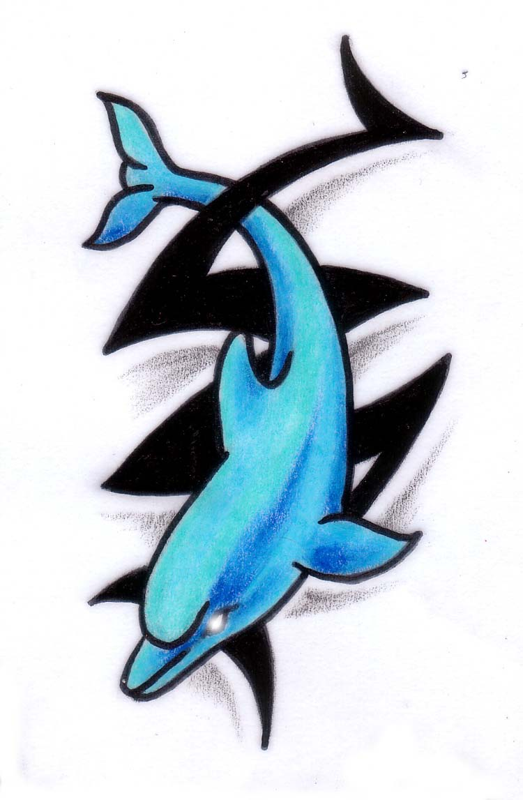 Pics photos dolphin tattoo design tattoos art and designs - Pics Photos Dolphin Tattoo Design Tattoos Art And Designs 27